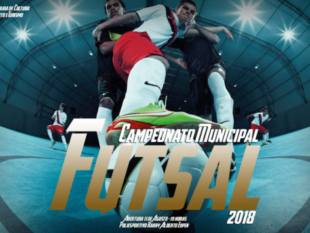 Definida a fórmula de disputa do Municipal de Futsal 2019